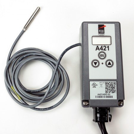sourcing map Interrupteur contr/ôle temp/érature thermostat 70/°C 10A normalement ferm/é NC 2Pcs